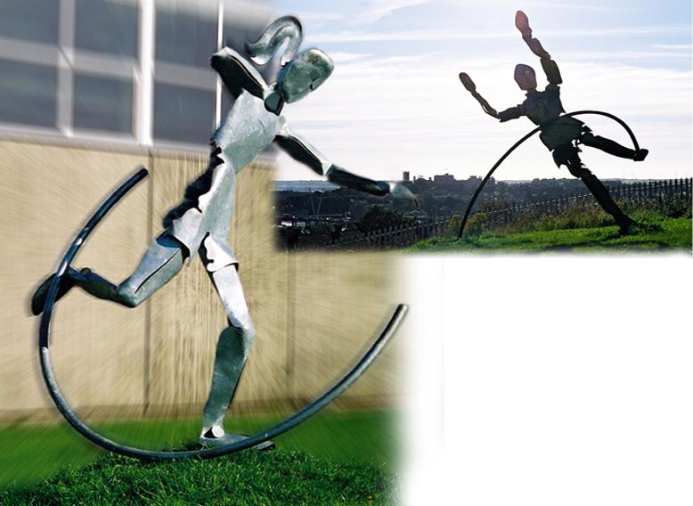 central sculpture